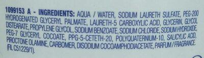 Neutralia Dermo-Protecteur Shampooing Traitant Anti-Pelliculaire - Ingredients