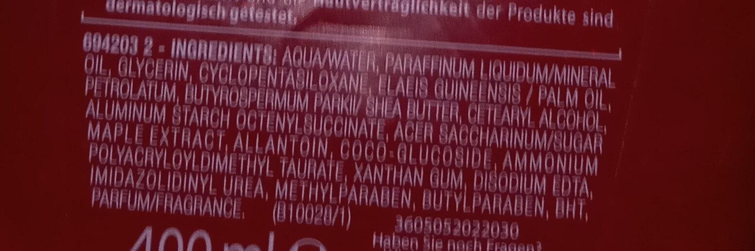 Fabi bodylotion - Ingredients - de