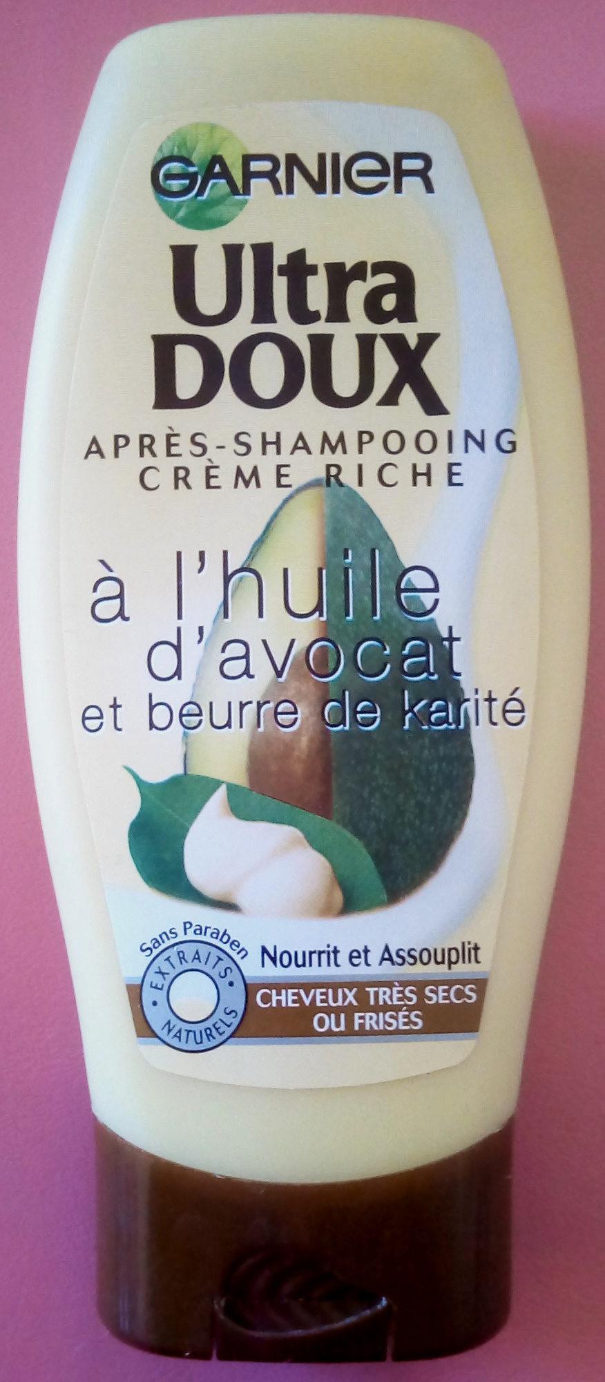 Ultra Doux à l'huile d'avocat et beurre de karité - Product - fr