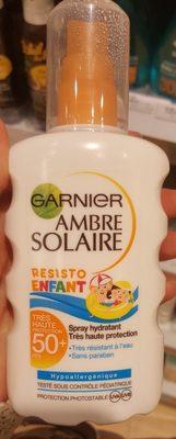 Ambre solaire Resisto Enfant FPS 50+ - Product