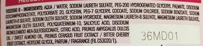 Ultra Doux Enfants Shampooing 2 en 1 à la cerise et amande douce - Ingrédients