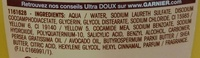 Ultra Doux Shampooing à l'huile d'avocat et beurre de karité - Ingredients - fr