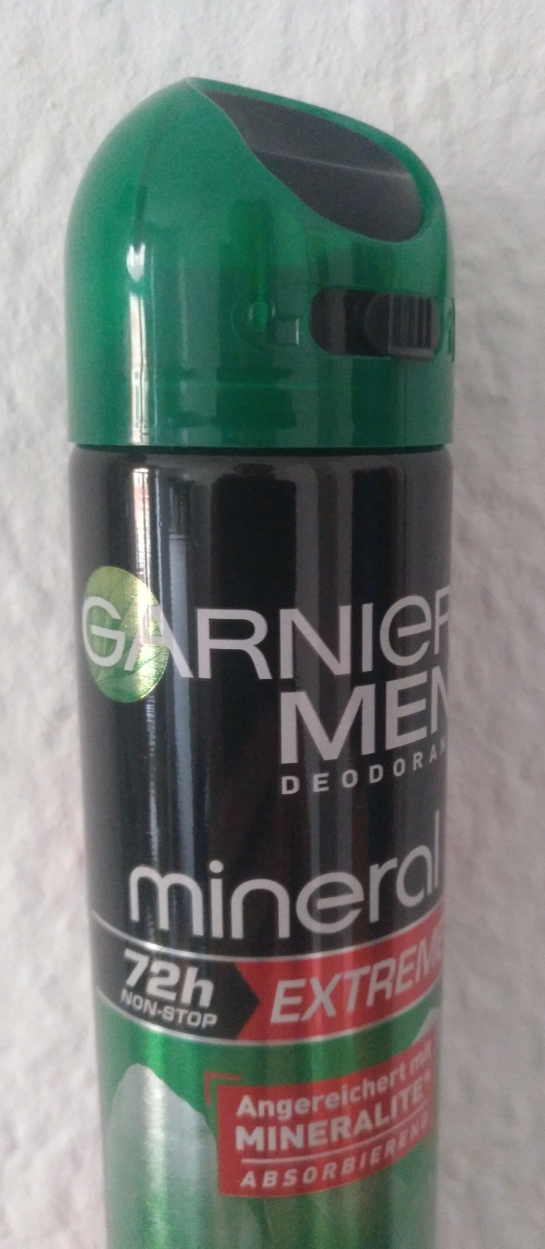 Garnier Men Deodorant mineral - Product - de