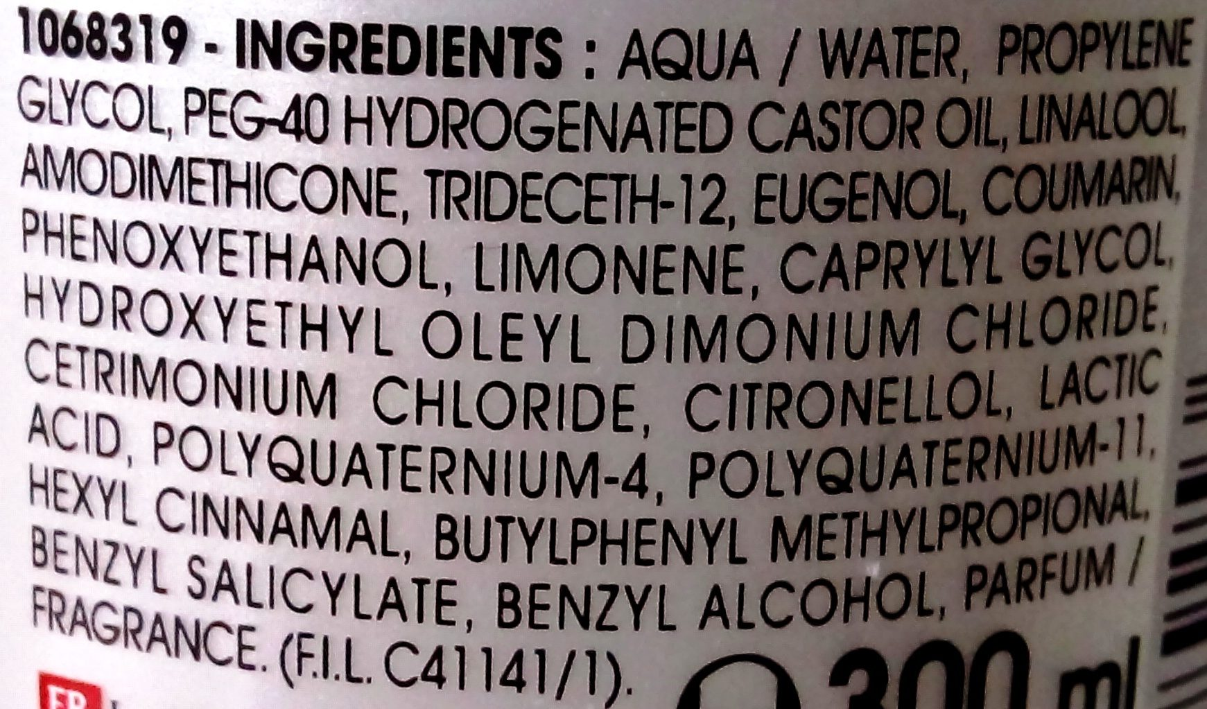 Expert Démêlage - Ingredients - fr