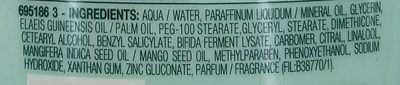 Intensif 7 jours - Ingredients - fr