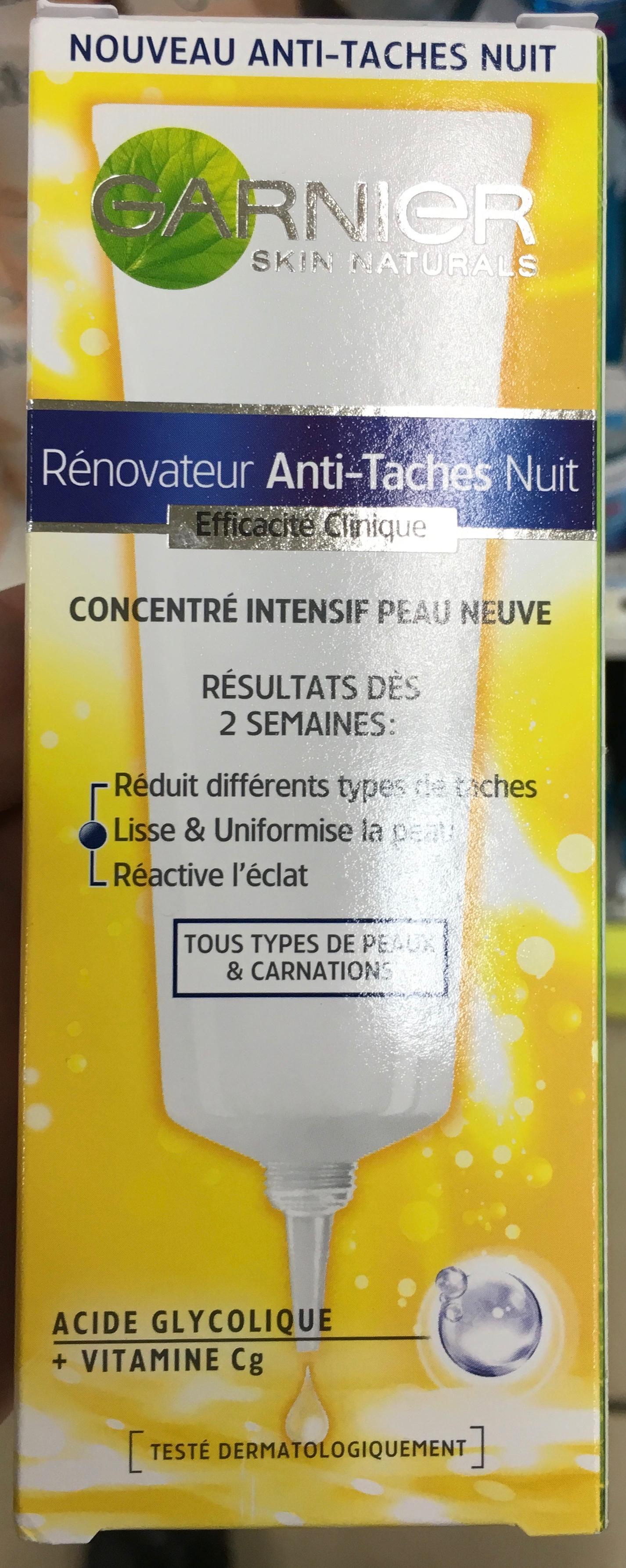 Rénovateur Anti-Taches Nuit - Product