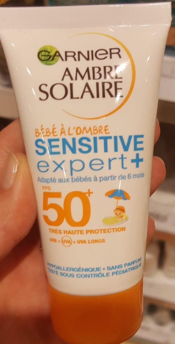 Ambre Solaire Bébé à l'ombre Sensitive Expert + - Produit