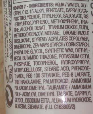 Garnier Sensitive Expert+ - Ingredients - en