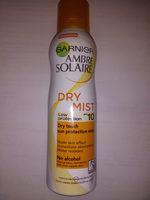 Garnier Ambre Solaire Dry Mist 10 - Product - nb