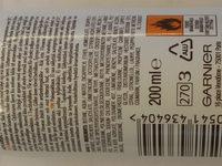 Garnier Ambre Solaire Dry Mist 10 - Ingredients - nb