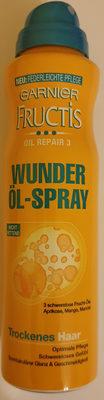 Fructis Wunder Öl-Spray - Produit - de