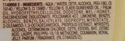 Après-shampooing reconstituant Trésors de Miel - Ingredients - fr