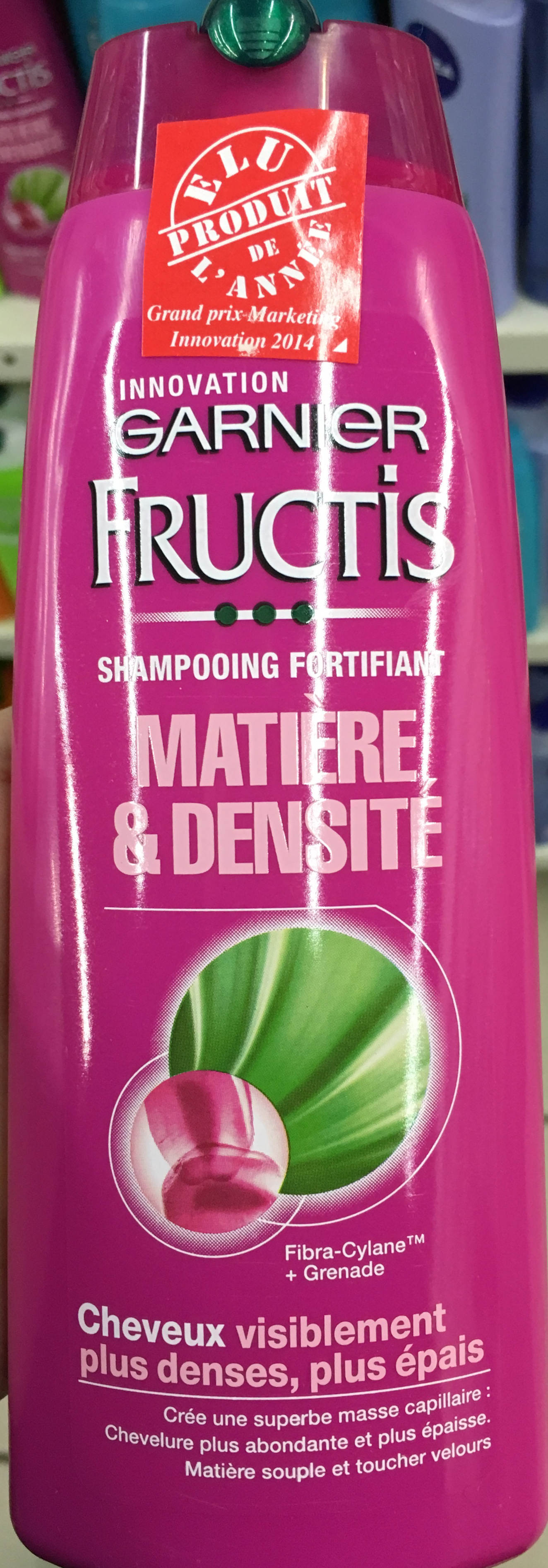 Fructis Shampooing fortifiant Matière & Densité - Product - fr