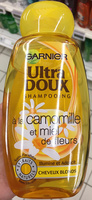 Ultra Doux Shampooing à la camomille et miel de fleurs - Product