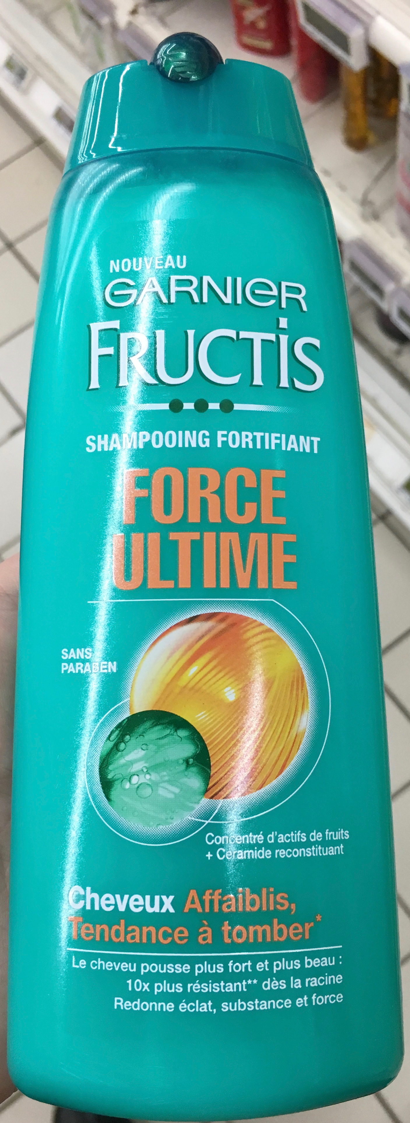 Garnier Fructis Force Ultime - Product