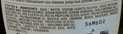 Ultra Doux Shampooing nutrition extrême Olive Mythique - Ingrédients