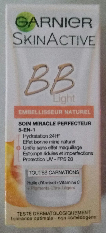 Soin miracle Perfecteur 5en1 BB Light toutes carnations - Product - fr