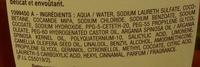 Ultra Doux Le shampooing merveilleux Huiles d'Argan et Camélia (maxi format) - Ingredients