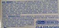Ambre Solaire UV Ski 30 Combi 2in1 Crème protectrice + Stick lèvres protecteur - Ingredients - en