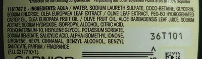 Wahre Schätze Mythische Olive - Ingredients - de