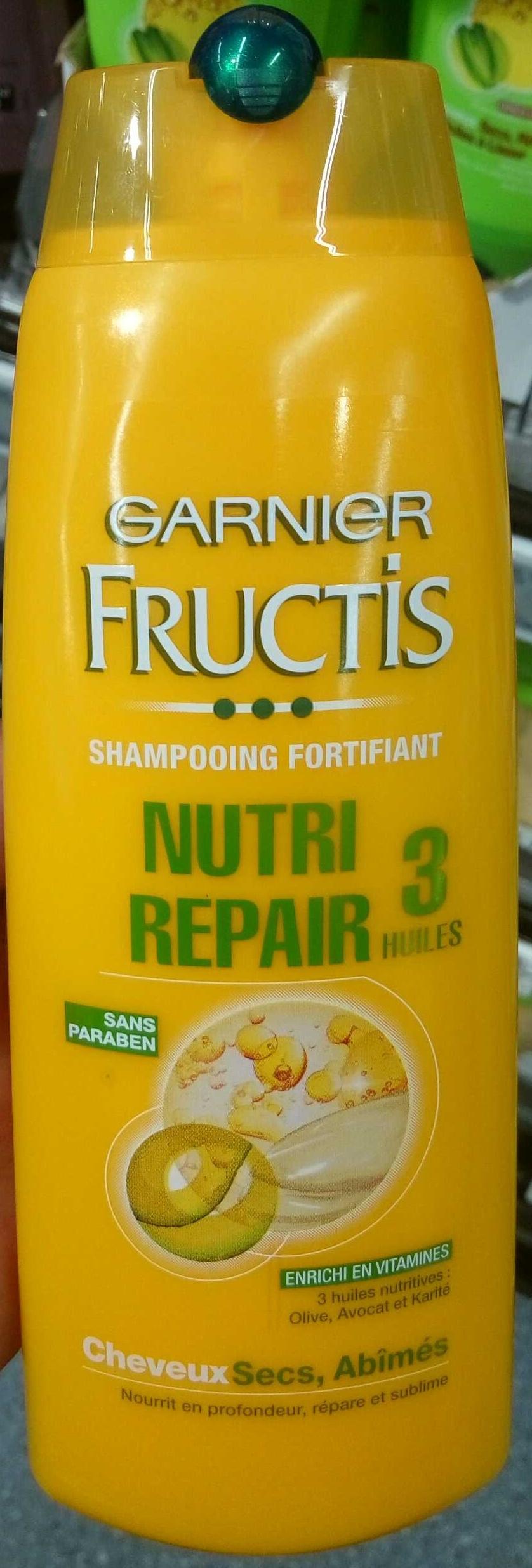Fructis Nutri Repair 3 Huiles - Produit - fr