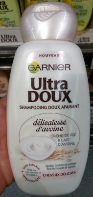 Ultra Doux Shampooing doux apaisant délicatesse d'avoine - Produit