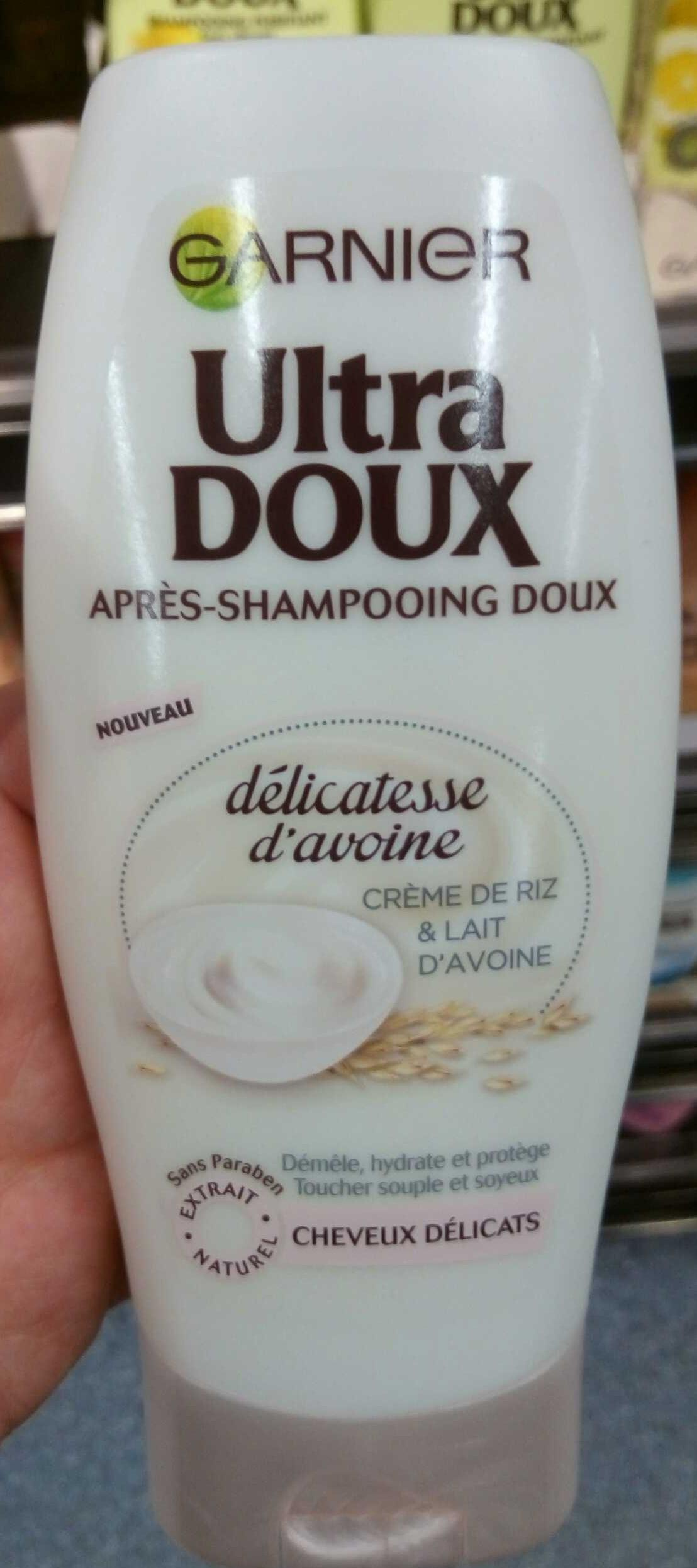 Ultra Doux Après-shampooing doux délicatesse d'avoine - Produit