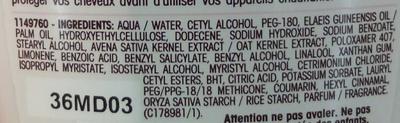 Ultra Doux Après-shampooing doux délicatesse d'avoine - Ingrédients