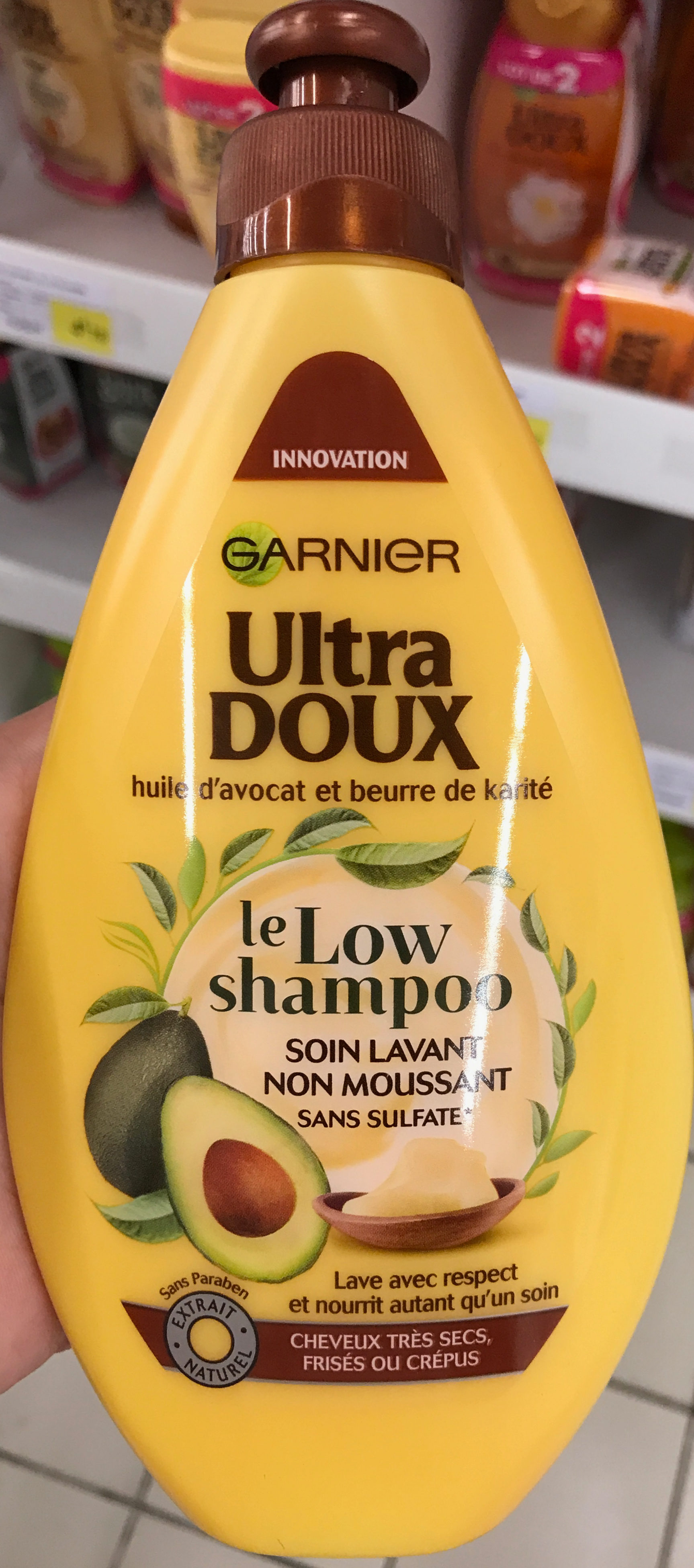 Ultra Doux Le Low Shampoo - Product