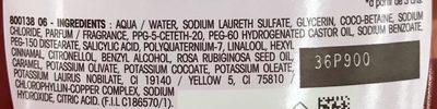Ultra Doux Douche soin Savon d'Alep & Huile de Rose - Ingredients