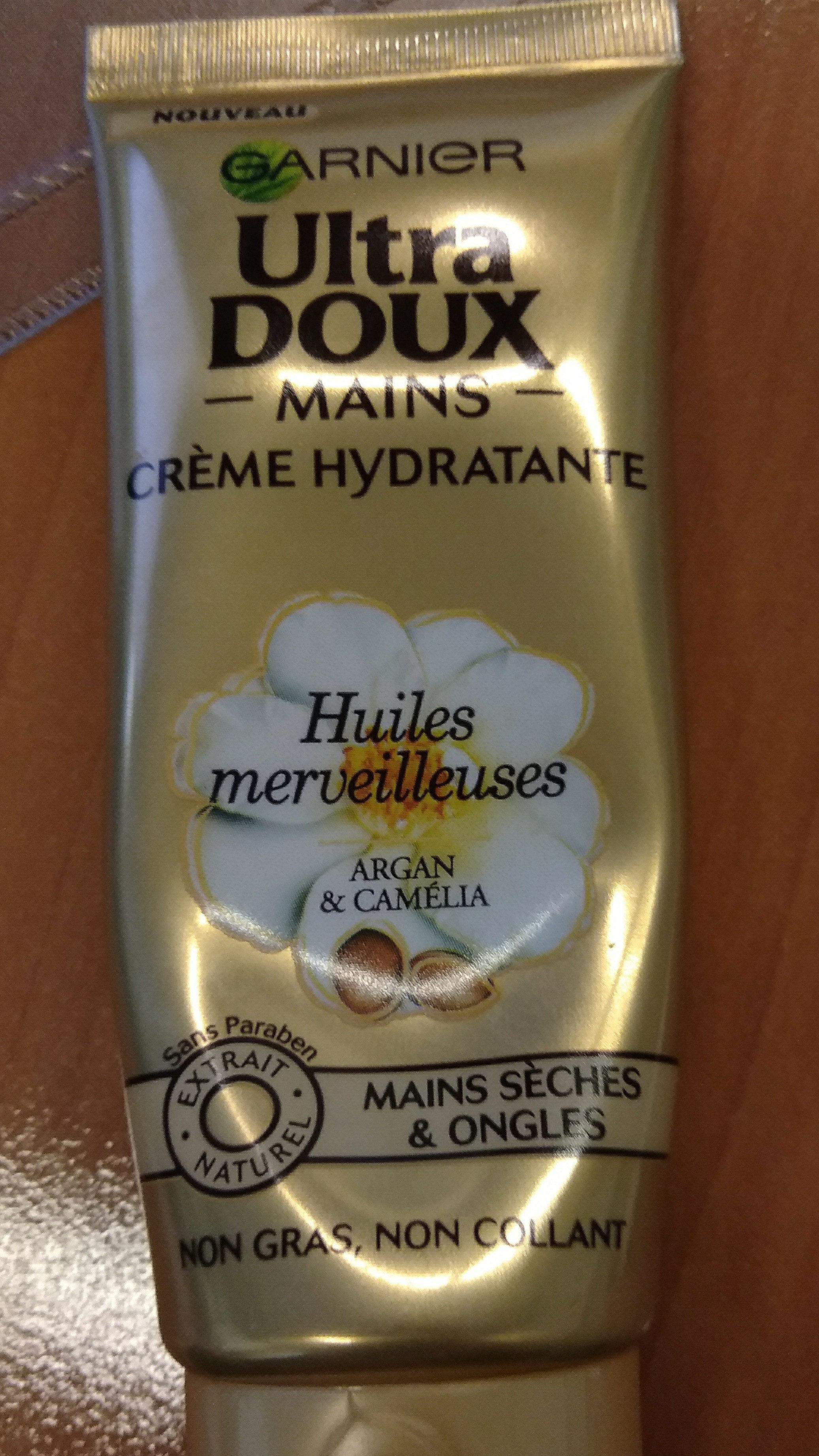 crème hydratante mains - Product