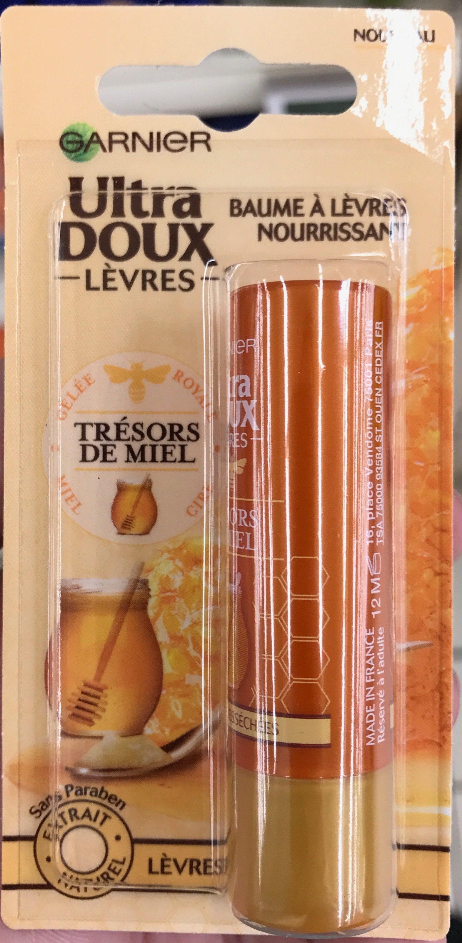 Ultra Doux Lèvres Baume à lèvres nourrissant Trésors de Miel - Product