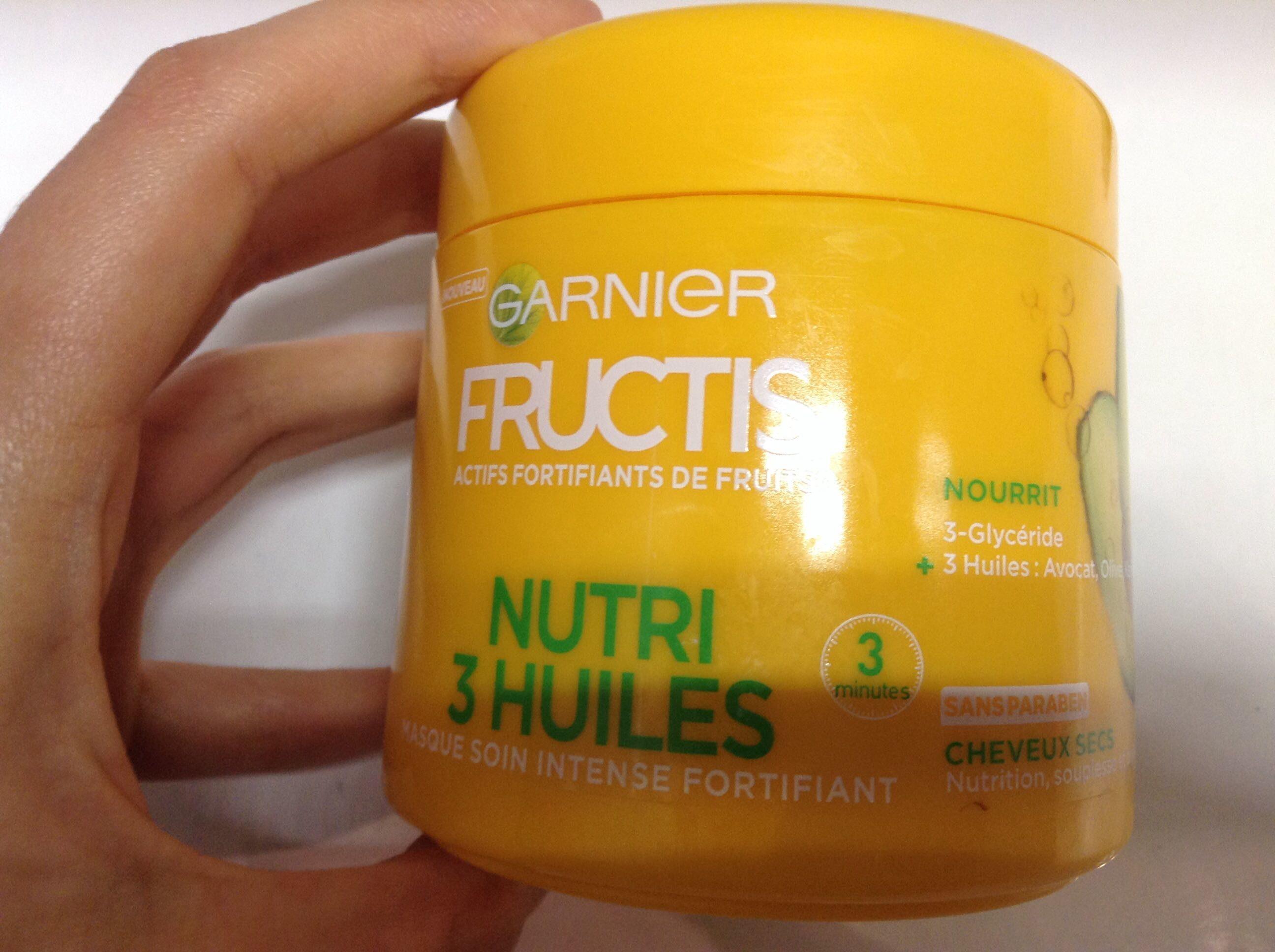 Nutri 3 Huiles Masque soin intense fortifiant - Produit - fr