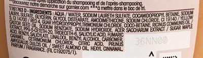 Ultra Doux Shampooing réparation intense Érable Guérisseur - Ingredients - fr