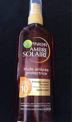 Huile ambrée protectrice FPS 10 - Product - fr