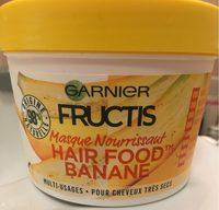 Masque nourrissant hair food banane - Product - fr