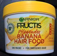 Garnier Fructis, Banana hair food, hair mask - Product