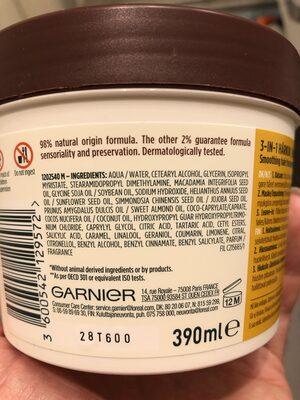 Fructis Macadamia Hair Food - Produit - en