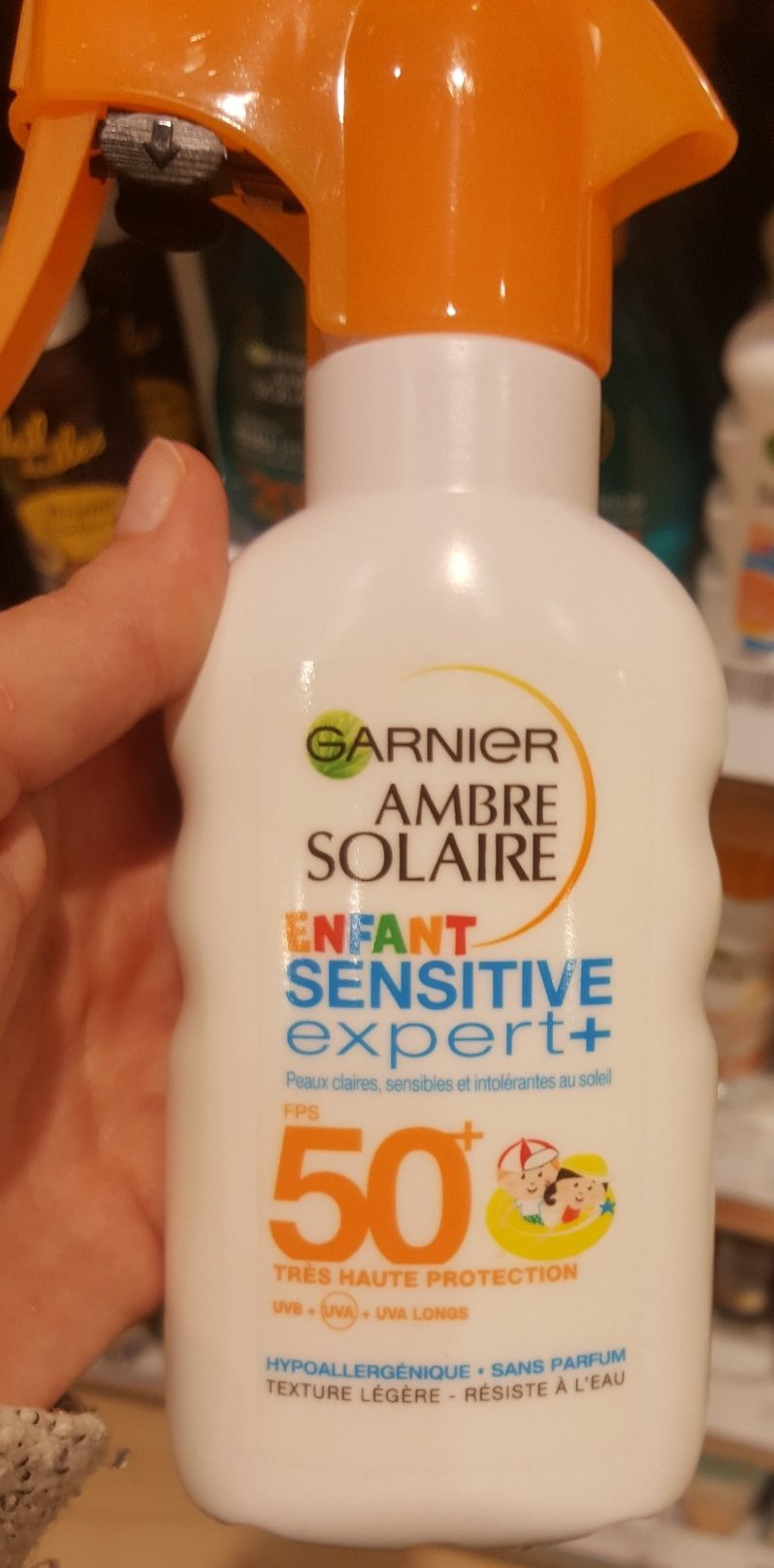 Ambre Solaire Enfant Sensitive Expert FPS 50+ - Product