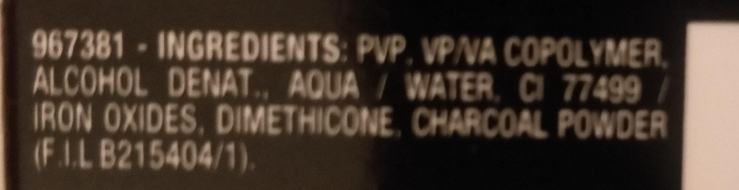 Pure Active Hautklar Carbone - Ingredients - it