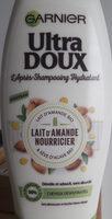 L'après-shampooing hydratant Lait d'amande nourricier - Produit