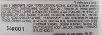 L'après-shampooing hydratant Lait d'amande nourricier - Ingredients - fr