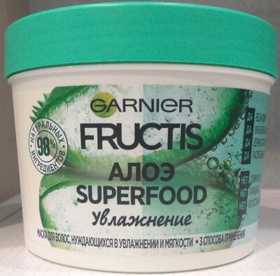 Garnier Fructis Алоэ Superfood - Produit - ru