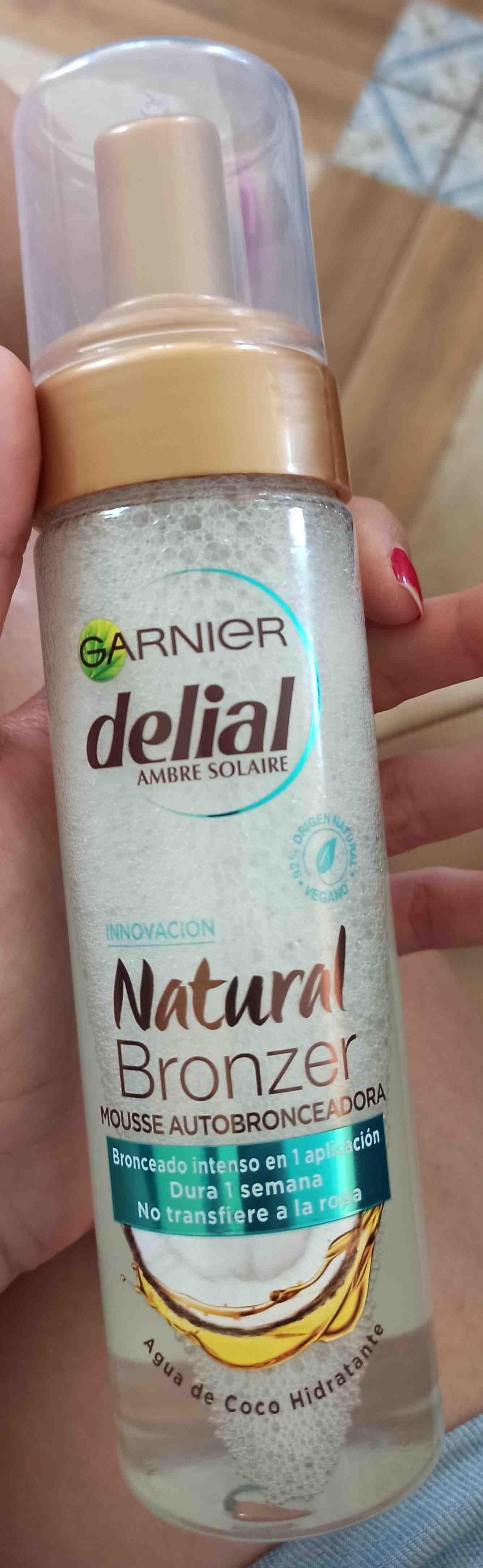 Delial natural bronzer - Produit - en