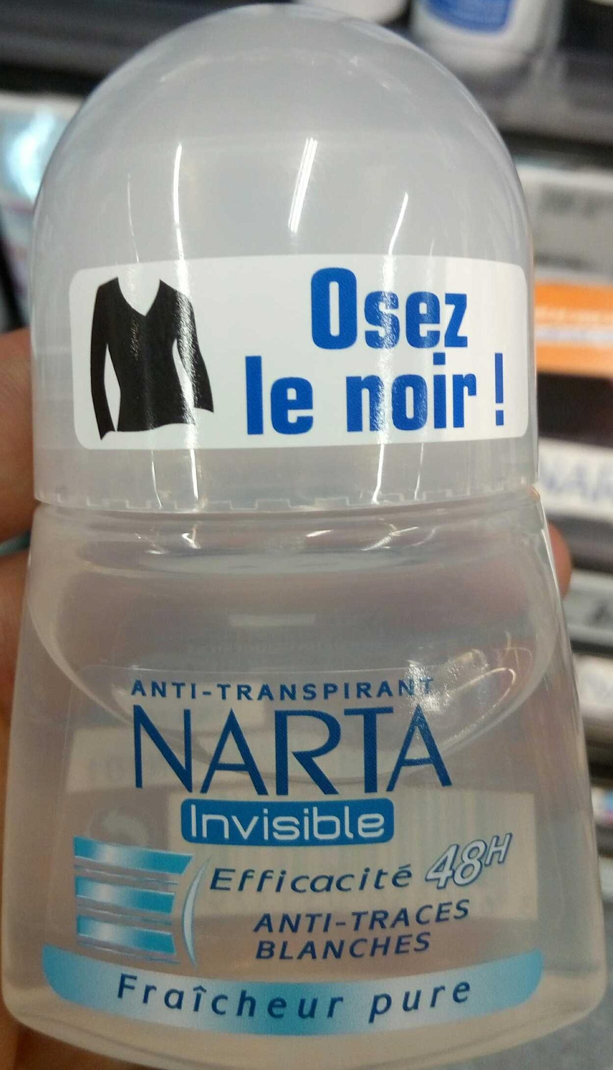 Anti-Tranpirant Invisible Fraîcheur pure 48H - Product