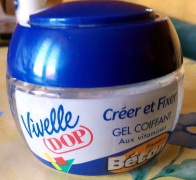 Gel coiffant aux vitamines Fixation Béton - Produit - fr