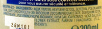 Eau nettoyante apaisante - solution micellaire - Ingredients - fr