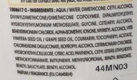 Après-shampooing crème anti-dessèchement Nutri-Extrême - Ingrédients