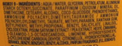 Lait corps hydratant raffermissant - Ingredients - fr