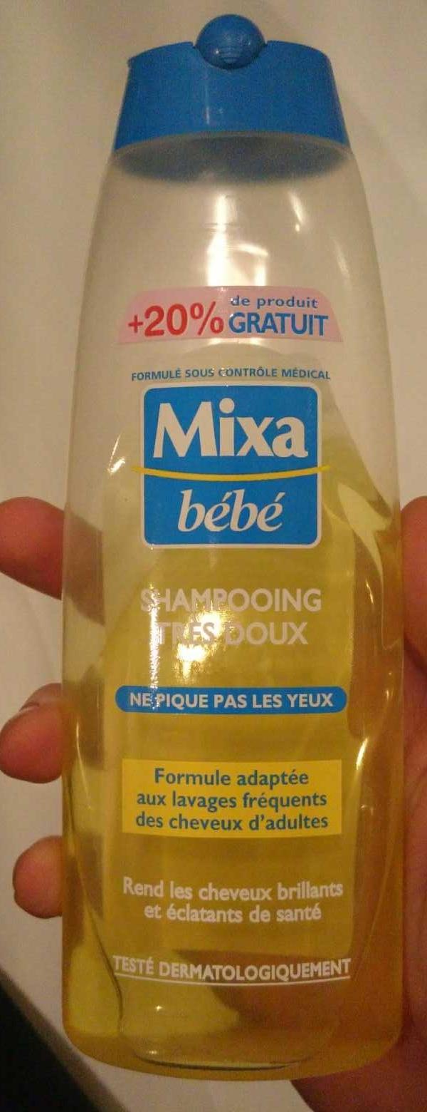 Shampooing très doux (+20% gratuit) - Product - en